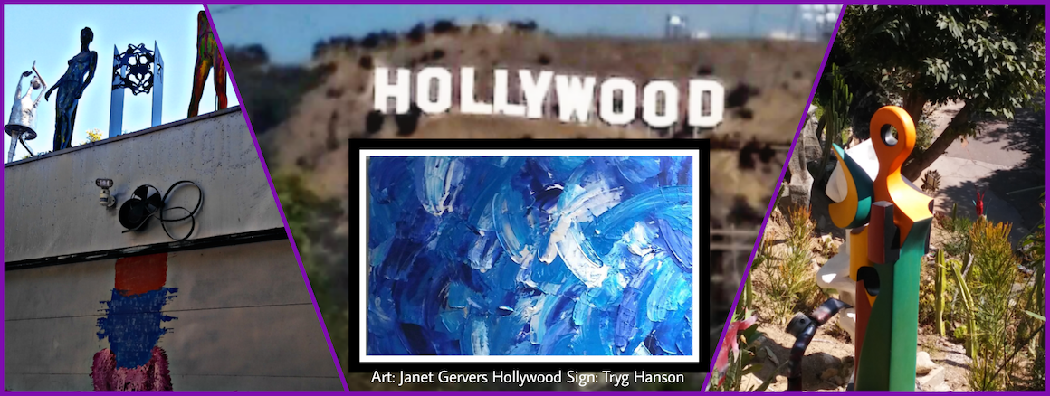 Janet Gervers in Art Show at Hollywood Sculpture Garden on October 21, 2-4pm Hollywood Hills