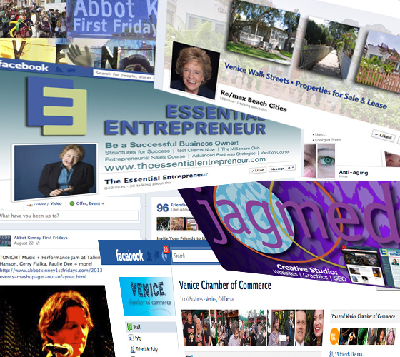 Facebook Page Creation, Social Media Cover Graphics, Social Media Jagmedia Venice & Santa Monica